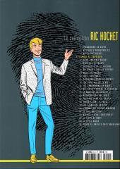Verso de Ric Hochet - La collection (Hachette) -4- L'ombre de caméléon