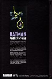 Verso de Batman : Dark Victory -INT- Amère victoire