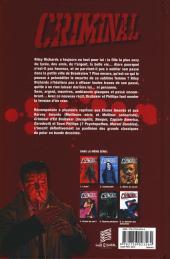 Verso de Criminal -6- Le Dernier des innocents