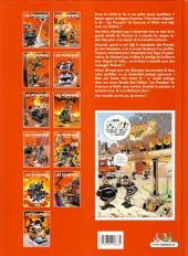 Verso de Les pompiers -5Top- Hommes des casernes