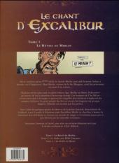 Verso de Le chant d'Excalibur -1c- Le Réveil de Merlin