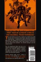 Verso de Ultimate X-Men (2001) -HC01B- Ultimate collection : book 1