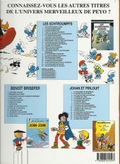 Verso de Les schtroumpfs -16b2005- Le schtroumpf financier