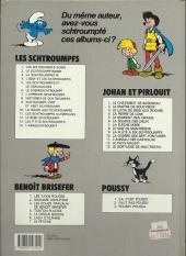 Verso de Les schtroumpfs -9d1993/03- Schtroumpf vert et vert schtroumpf