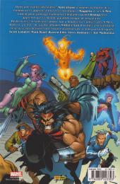 Verso de Marvel Gold -2- X-Men : L'ère d'apocalypse - 1