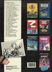 Verso de Spirou et Fantasio -29a1986- Des haricots partout