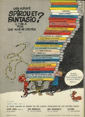 Verso de Spirou et Fantasio -24b77- Tembo Tabou