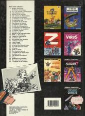 Verso de Spirou et Fantasio -20d1986- Le faiseur d'or