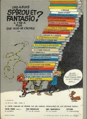 Verso de Spirou et Fantasio -16d76- L'ombre du Z