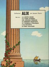 Verso de Alix -5b1970- La griffe noire