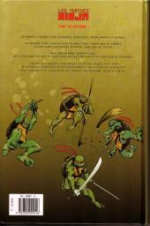 Verso de Les tortues Ninja (Soleil) -1- Nouveau départ