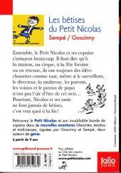 Verso de Le petit Nicolas -7 - Les bêtises du Petit Nicolas