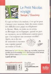 Verso de Le petit Nicolas -8 - Le Petit Nicolas voyage