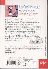 Verso de Le petit Nicolas -9 - Le Petit Nicolas et ses voisins
