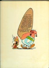 Verso de Astérix -10a1972- Astérix Légionnaire