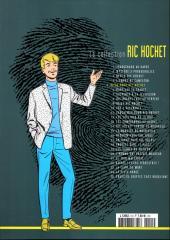 Verso de Ric Hochet - La collection (Hachette) -5- Piège pour Ric Hochet