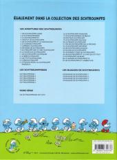 Verso de Les schtroumpfs -17Ind- Le schtroumpfeur de bijoux