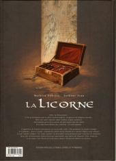 Verso de La licorne -4TL- le Jour du baptême