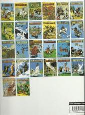 Verso de Yakari -1c2000- Yakari et Grand Aigle