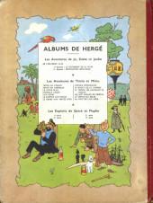 Verso de Tintin (Historique) -10B05- L'étoile mystérieuse