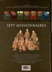 Verso de Sept -4a- Sept Missionnaires