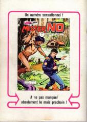 Verso de Mister No -1- L'homme aux lunettes noires