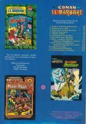 Verso de Les défenseurs (1re série - Arédit - Artima Color Marvel Super Star) -5- Bataille de rois