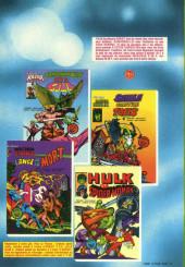 Verso de Les défenseurs (1re série - Arédit - Artima Color Marvel Super Star) -6- Procès pour deux Défenseurs