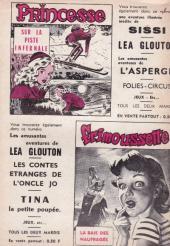 Verso de Frimousse et Frimousse-Capucine -1972- Commissaire