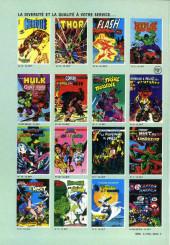 Verso de Les défenseurs (1re série - Arédit - Artima Color Marvel Super Star) -10- La bataille finale