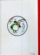 Verso de Bécassine -19c80- Bécassine dans la neige