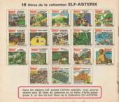 Verso de Astérix (Elf) -12- Astérix en Égypte