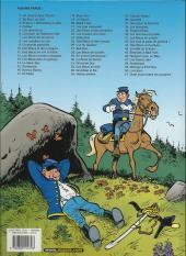 Verso de Les tuniques Bleues -26a2007- L'or du Québec