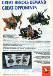 Verso de Justice League Europe (1989) -7- Teasdale unbound
