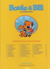Verso de Boule et Bill -11- (M6 Interactions) -1- Graine de cocker