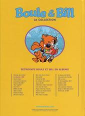 Verso de Boule et Bill -11- (M6 Interactions) -2- La bande à Bill