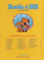Verso de Boule et Bill -11- (M6 Interactions) -3- Quel cirque !