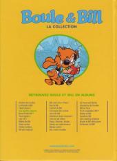Verso de Boule et Bill -11- (M6 Interactions) -4- Les quatre saisons