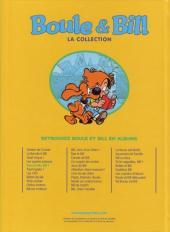 Verso de Boule et Bill -11- (M6 Interactions) -5- Bwouf allo Bill ?