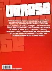 Verso de Les dossiers d'Olivier Varèse -INT1- Kokonino World