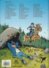 Verso de Les tuniques Bleues -1e03- Un chariot dans l'ouest