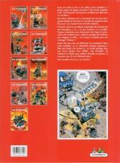 Verso de Les pompiers -9col- Feu à volonté !: album collector 10 ans christophe cazenove