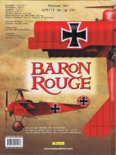 Verso de Baron Rouge (Puerta) -1- Le Bal des Mitrailleuses