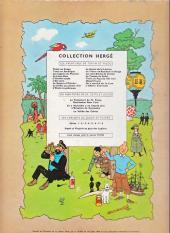 Verso de Tintin (Historique) -4B23bis- Les cigares du pharaon
