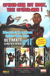 Verso de Marvel Stars -15- Peur sur la ville