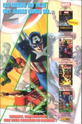 Verso de Marvel Icons (Marvel France - 2011) -15- Osborn, le retour !