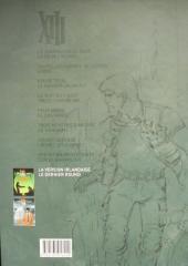 Verso de XIII (Le Soir Belgique) -9- La Version irlandaise / Le Dernier round