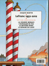 Verso de Lefranc -2TL60 Ans- L'ouragan de feu