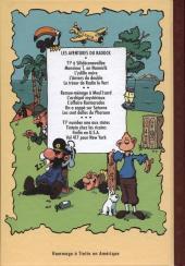 Verso de Radock III -4- Les aventures de Taratatin - Vol 417 pour New York