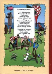 Verso de Radock III -3- Les Aventures de Finfin - Finfin en U.S.A.